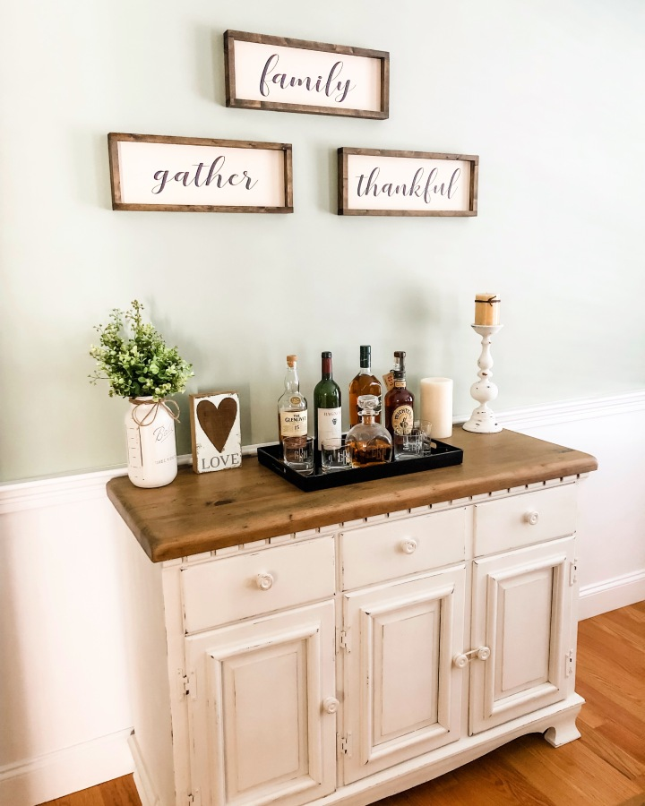Rustic Spring Decor